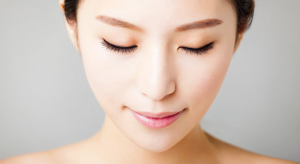 Japanese women use a variety of natural products, including liquid collagen, to care for their skin.