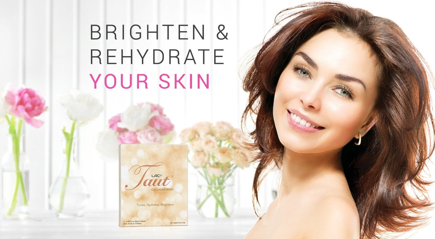 Brighten & Rehydrate your skin with Taut Collagen Masks | RenewAlliance