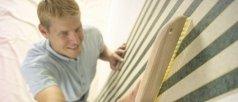 applicazione carta da parati, rivestimento muri, decorazione muri