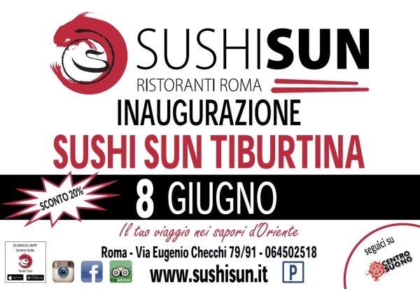 shushi sun roma ristorante tiburtina