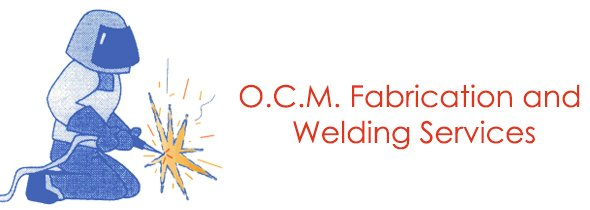 o c m fabrication and welding services logo