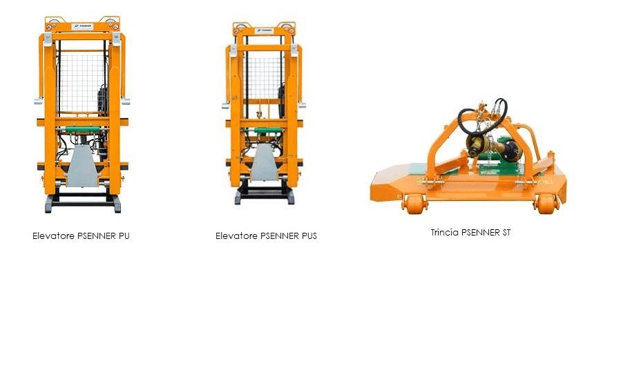attrezzi agricoli color arancio