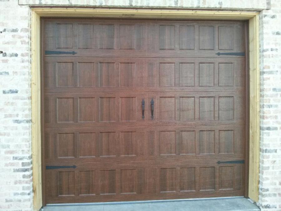 Capital Overhead door (brown)