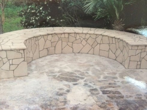 arredo esterno in pietra