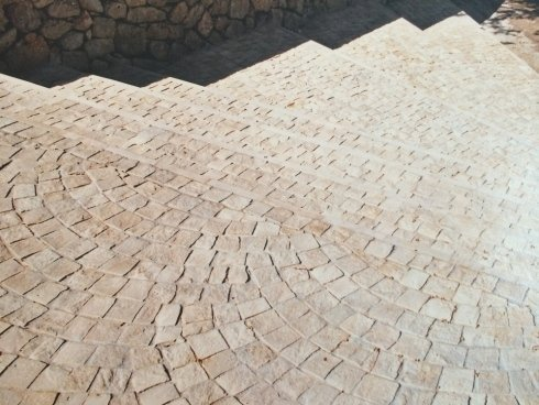 sclainata esterna in pietra