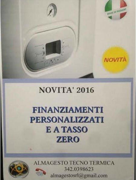 offerta per finanziamento installazione termosifoni