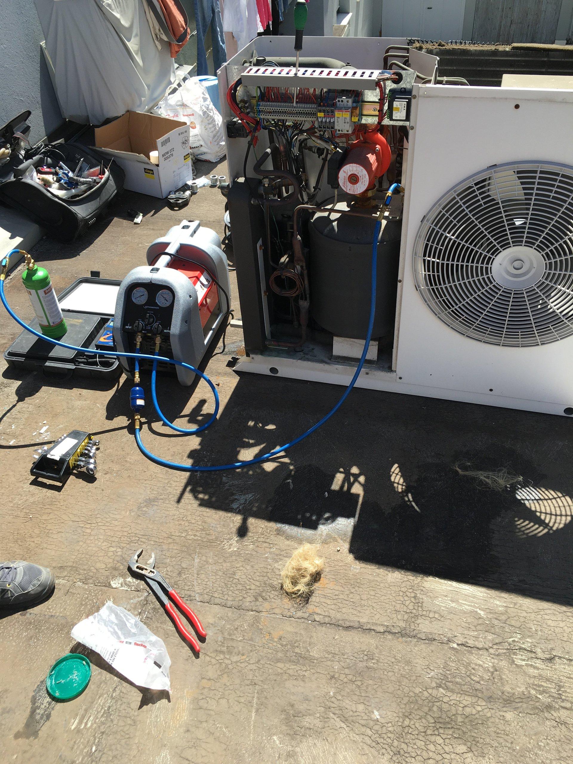 riparazione impianto di climatizzazione