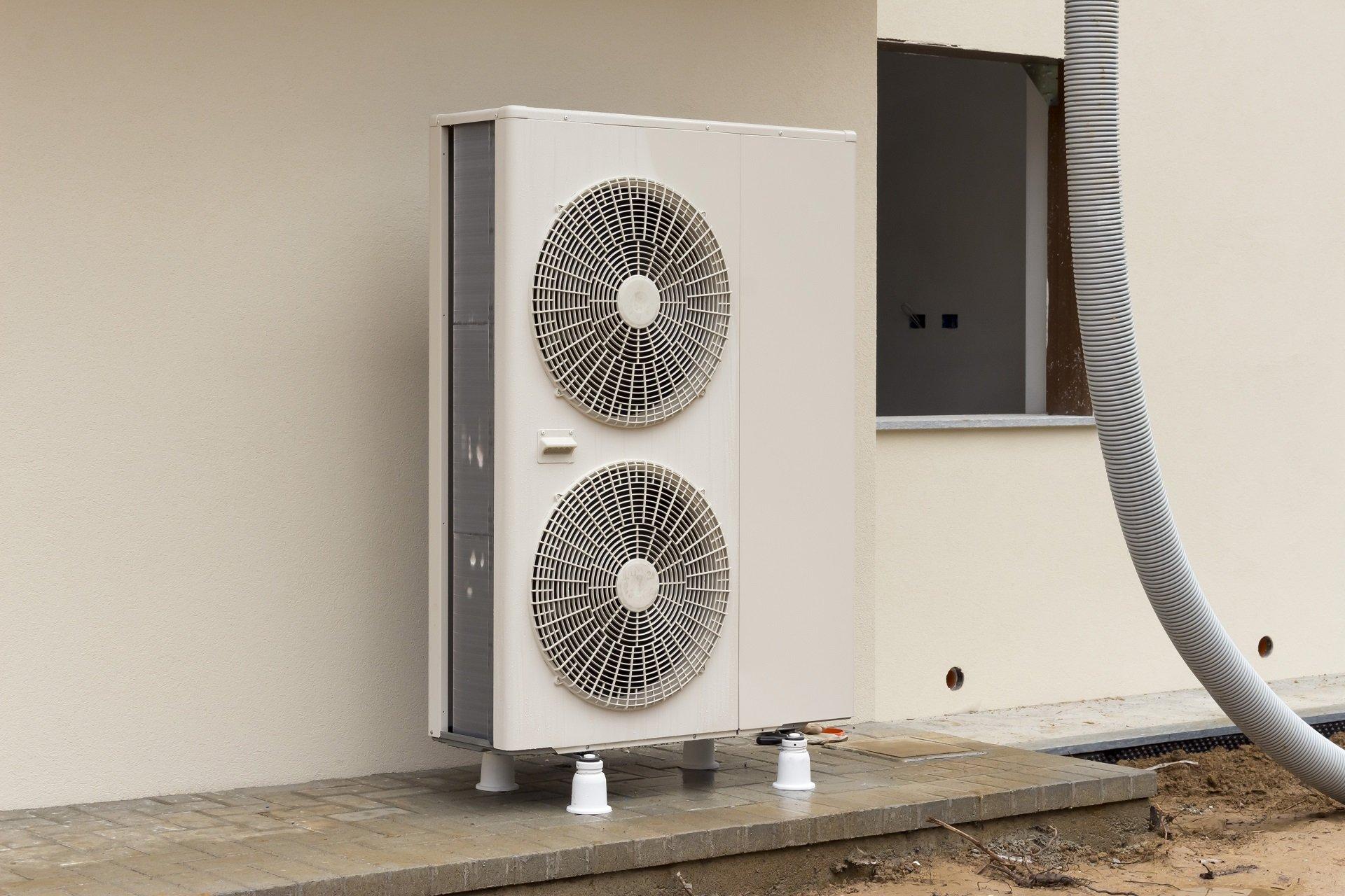 condizionatore d'aria con doppia ventola