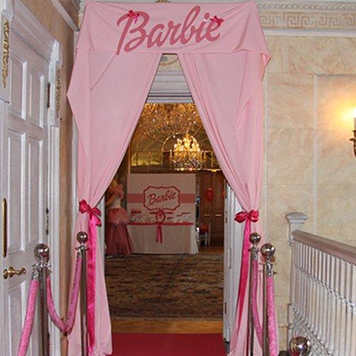 barbie childrens curtain