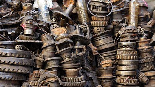 Some of our used auto parts in St Louis, MO