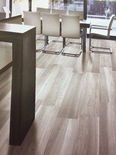 Stylish wooden flooring