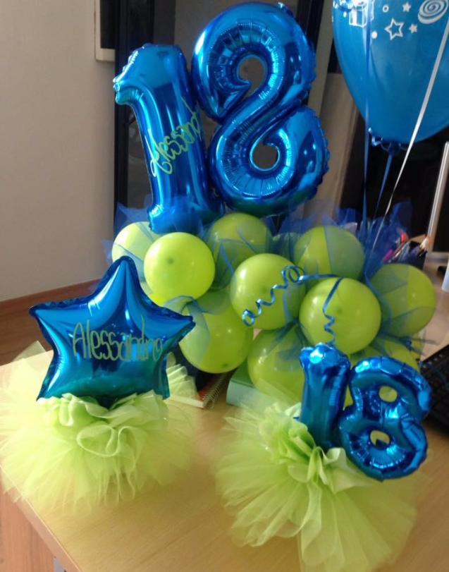 sculture di palloncini per compleanno