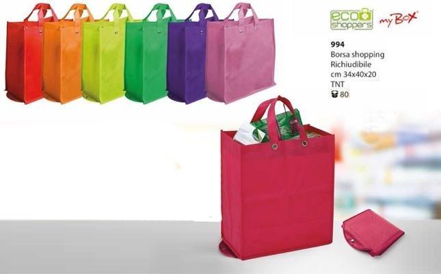 borsa shopping richiudibile