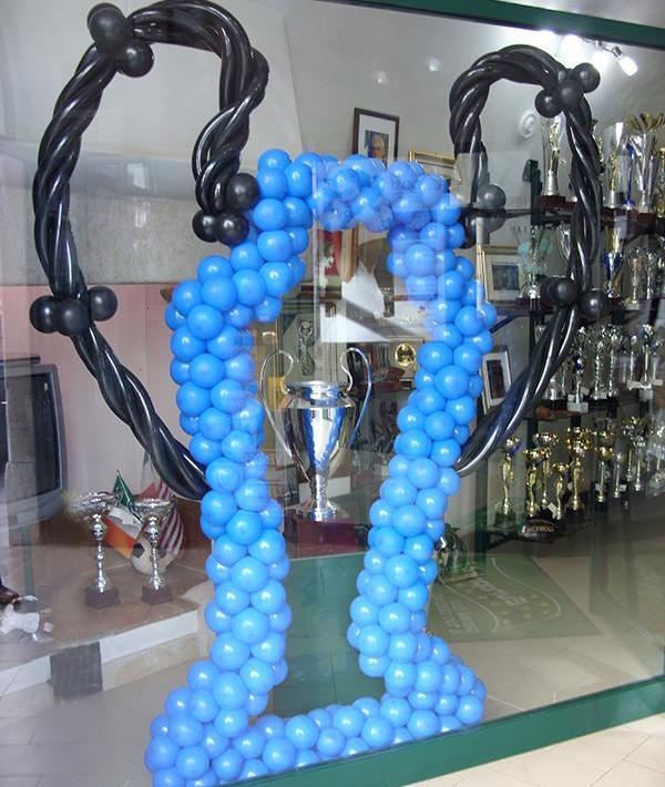 sculture di palloncini ad elio