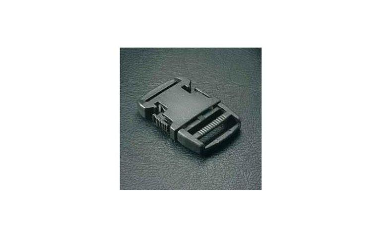 clip plastica nera
