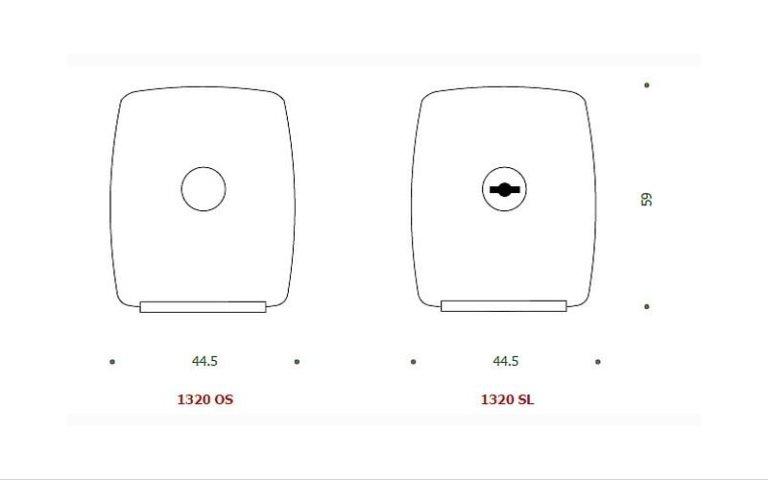 disegno serratura OS+SL