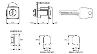 serratura cilindretto