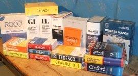 Libri scolastici, vocabolari, Napoli