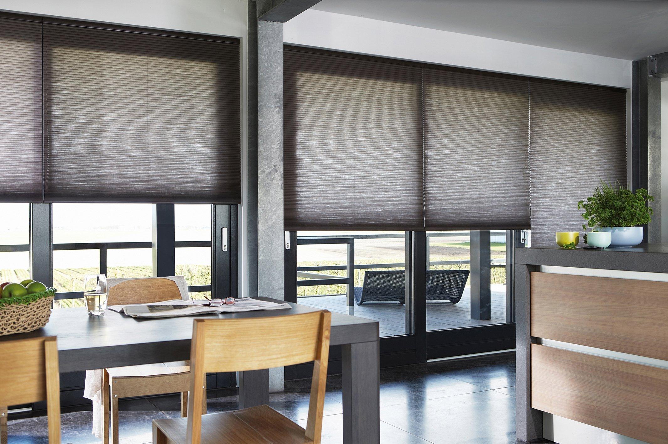 half-rolled blinds