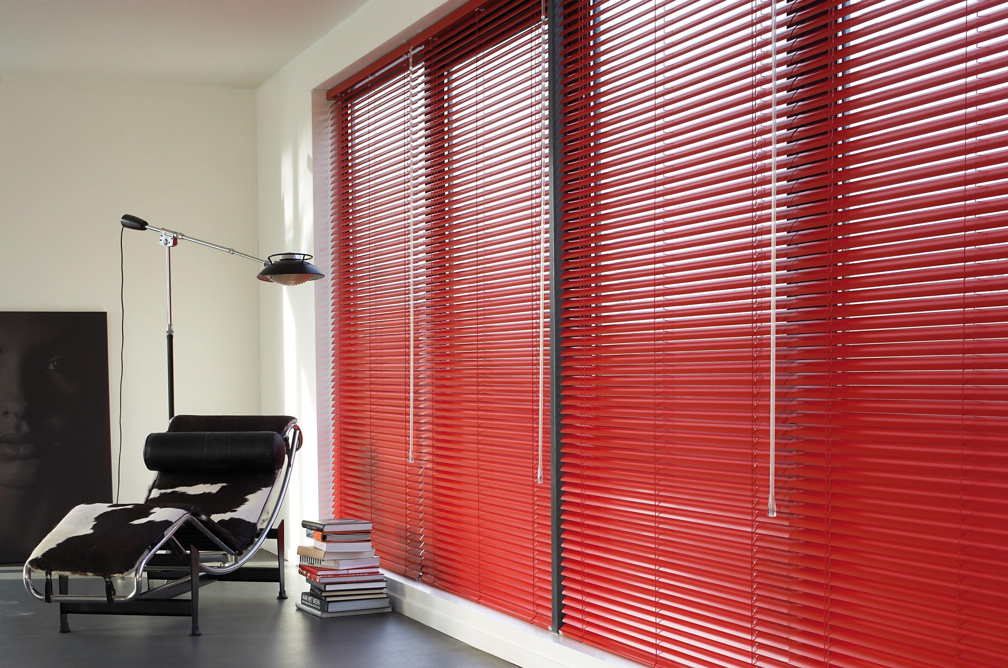 long horizontal blinds