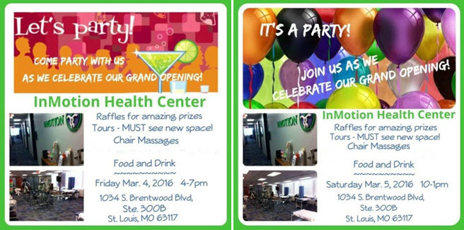 InMotion Health Center Grand Opening Event