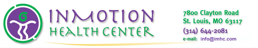 InMotion Health Center, Chiropractic and Acupuncture Center in St. Louis MO
