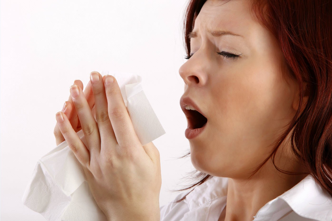 Sneezing, allergy, acupuncture for allergy relief