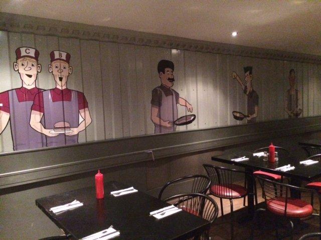 restaurant graphics