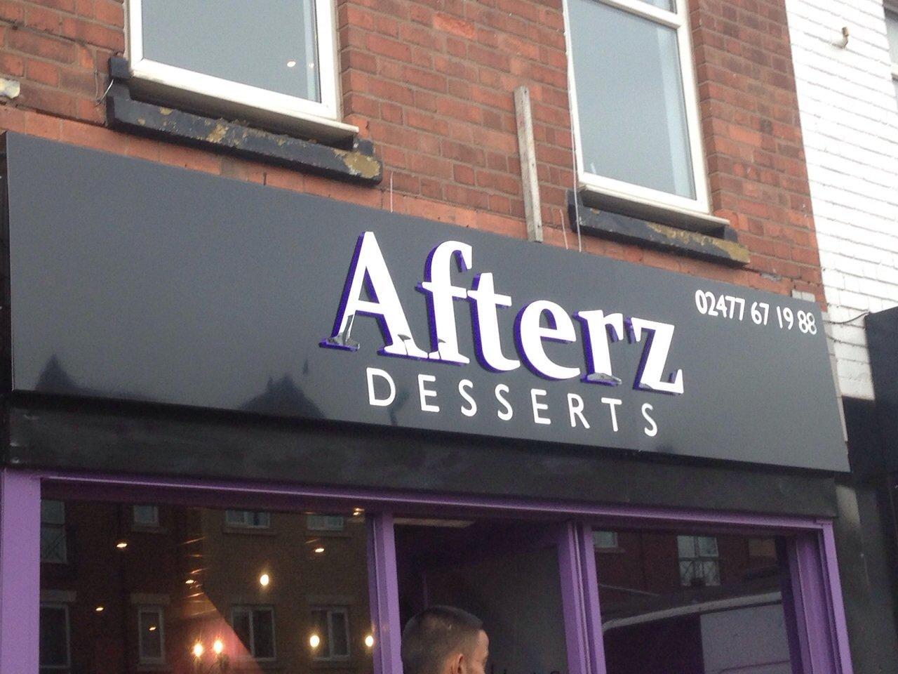 afterz desserts