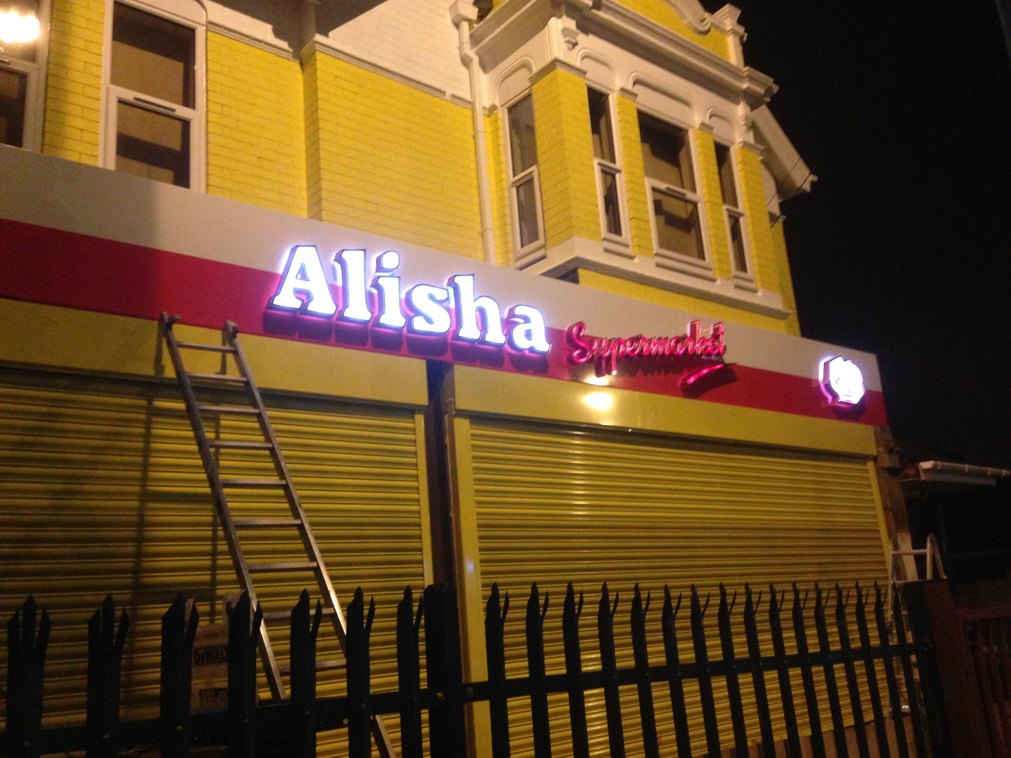 alisha supermarket