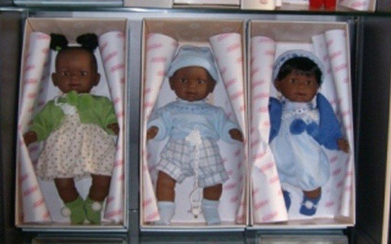 bambole colorate