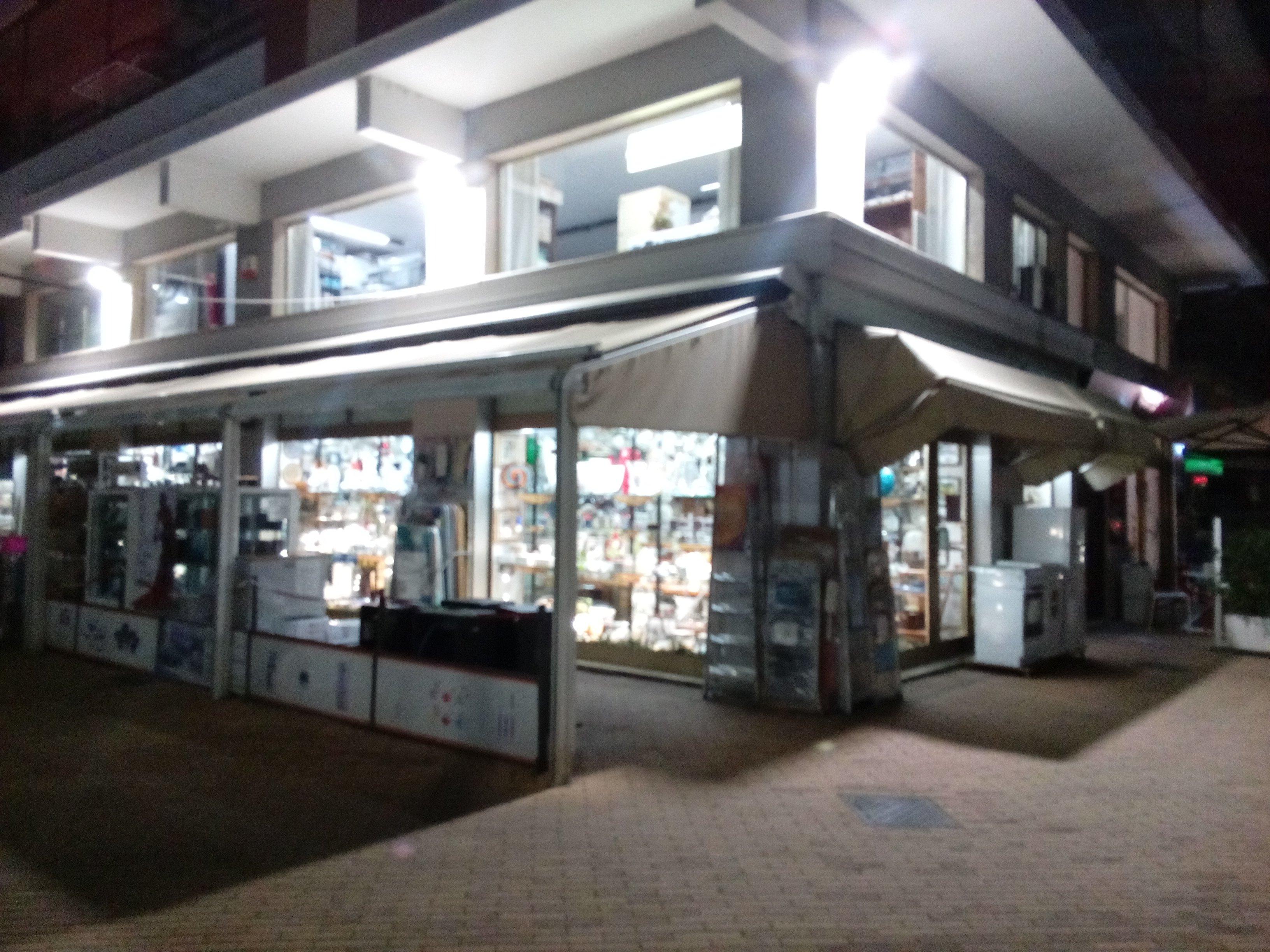 vista esterno di un negozio di elettrodomestici a Ceriale, SV