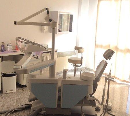strumentazione per visita ortodontica