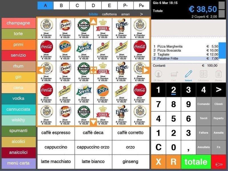 un sistema digitale di vendita
