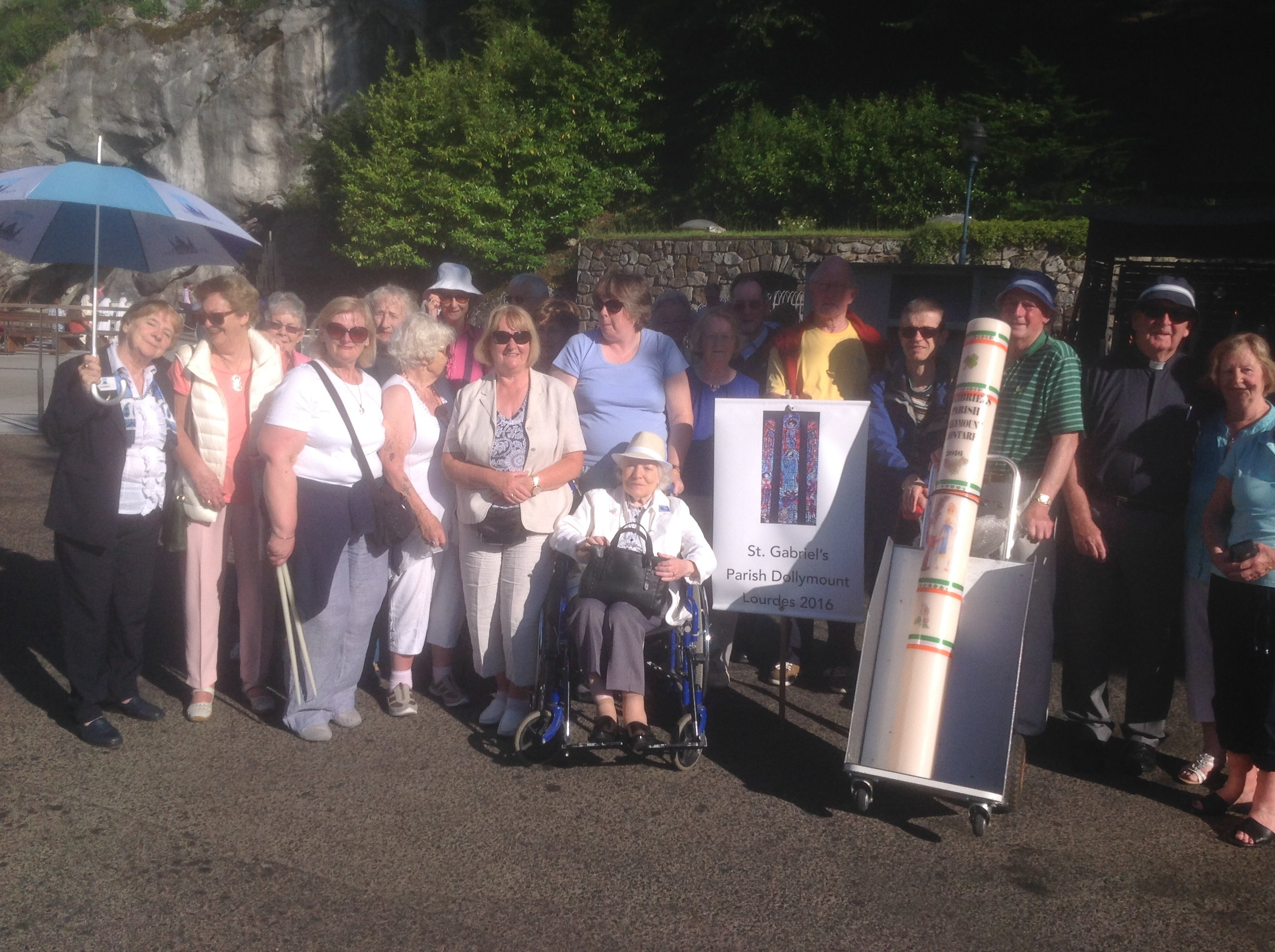 Parish Pilgrimage to Lourdes 2016