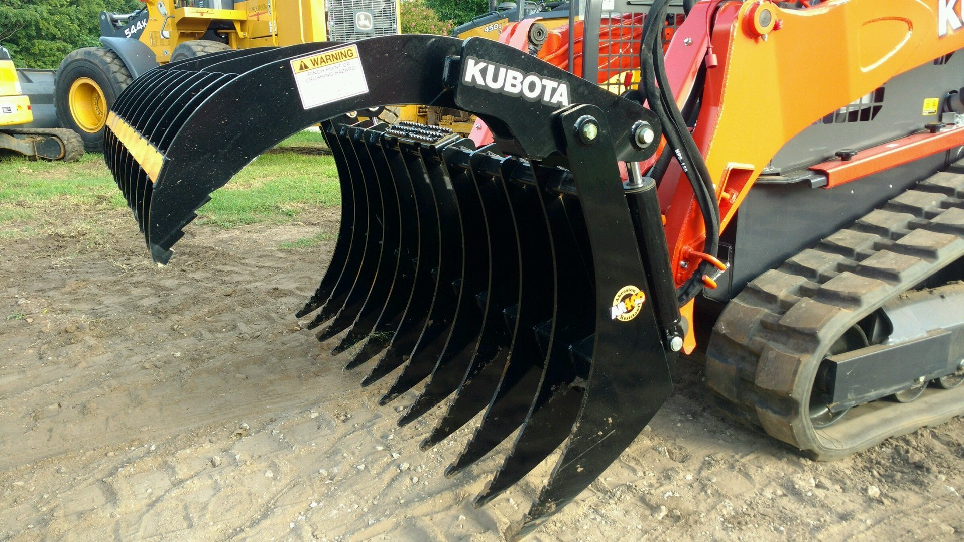Kubota Grapple Attachment