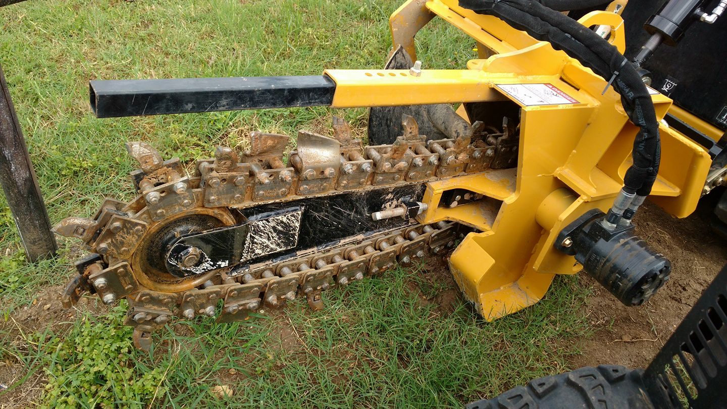 Trencher Attachment (Vermeer CTX 100)