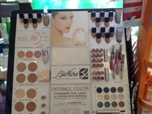 Assortimento prodotti cosmetici