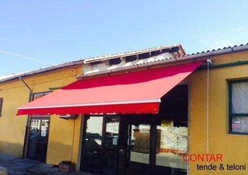 Posa tende da sole - Livorno - Contar