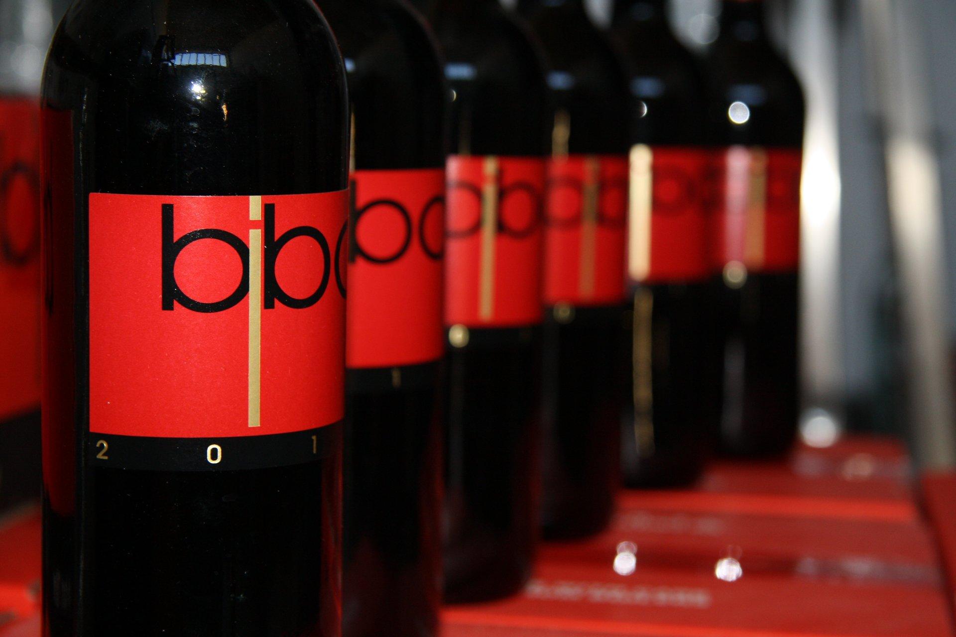 bottiglie vino Bibo