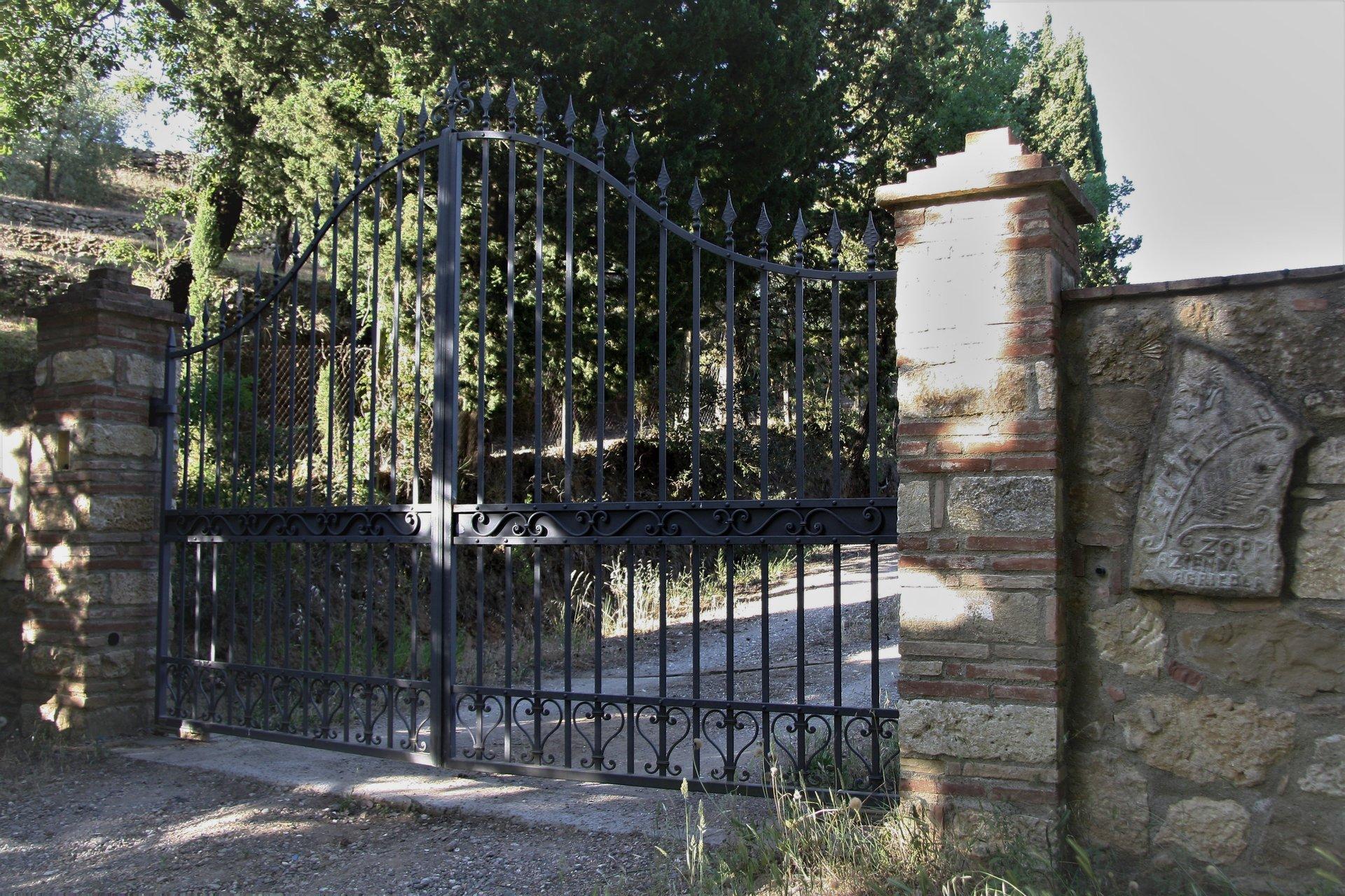 entrata con cancello