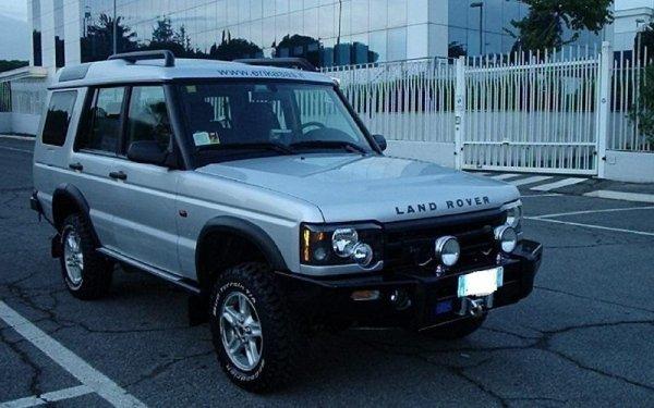 Land Rover esposizione