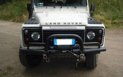 paraurti Land Rover