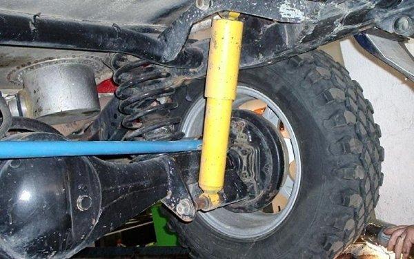 sospensione auto Pajero