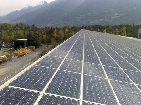 copertura solare capannone