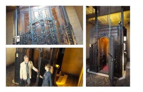 ascensori stile classico complessi residenziali