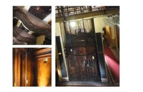 ascensori stile classico vecchi edifici