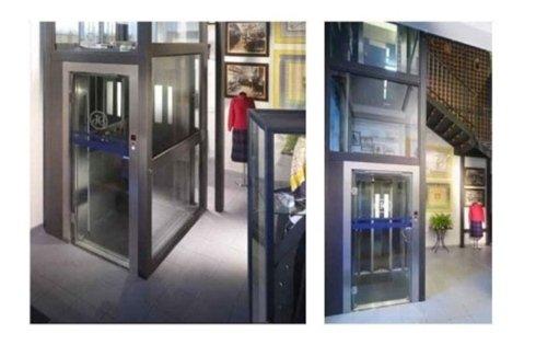 ascensori stile contemporaneo complessi residenziali