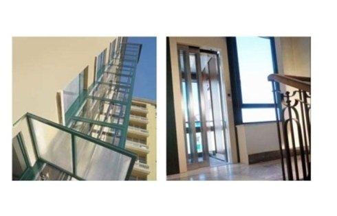 visuale esterna interna ascensori stile contemporaneo