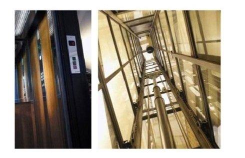 ascensori stile contemporaneo elettrici